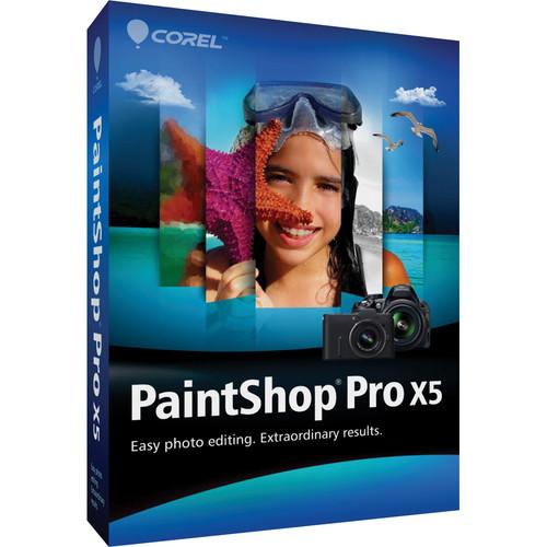 Corel PAINTSHOP PRO X5 ML (DVD CASE) EDU/WIN