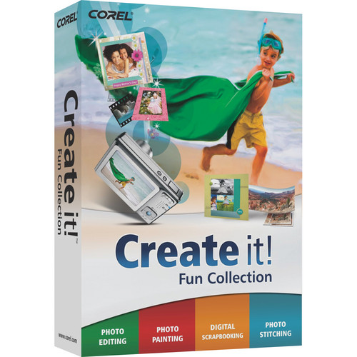Corel CREATE IT! EN MINI-BOX (WINDOWS)