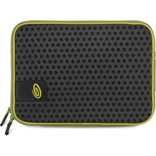 "Timbuk2 CASE SLEEVE f/11"" MB - BLACK/GM/GREEN"