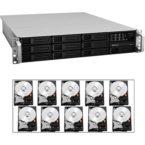 Synology RS2212-PLUS 10-BAY 2U RACK MNT/40TB HD