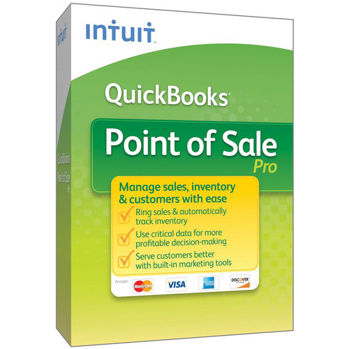 Intuit QB POS PRO 2013 WITH SUPPORT