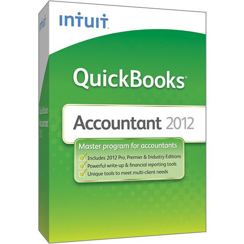 Intuit QUICKBOOKS 2012 ACCOUNTANT 25-USER