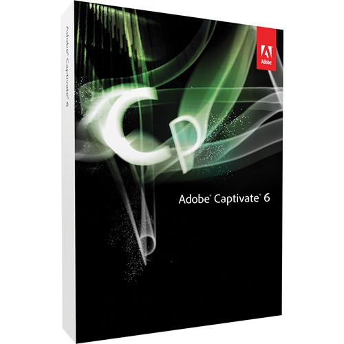 Adobe CAPTIVATE 6 WIN DVD f/CAPTV 4 DVD UPGR