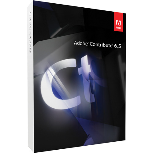 Adobe CONTRIBUTE 6.5/WIN/UPG/5-PK/DVD/0 PT