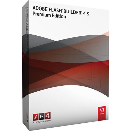 Adobe FLASH BUILDER PREMIUM 4.5 RTL 1U DVD