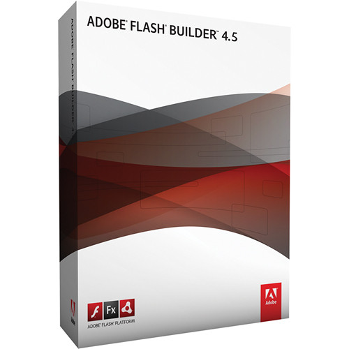 Adobe FLASH BUILDER STANDARD 4.5 RTL 1U DVD