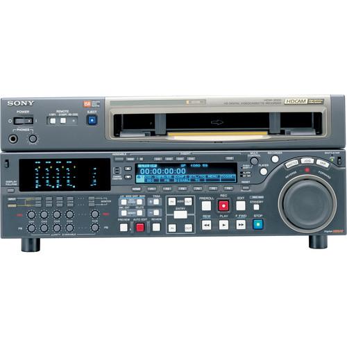 Sony HDCAM STUDIO VTR w/MULTIFORMT PLAYBACK
