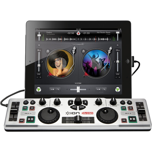 ION Audio DJ SYSTEM f/iPAD/PHONE/PAD TOUCH/LIGHT