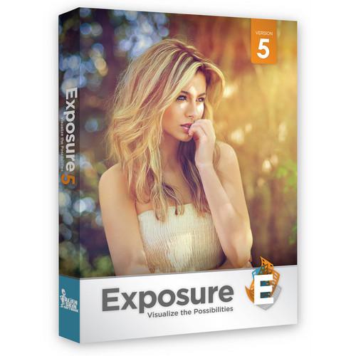 Alien Skin Software EXPOSURE 5 f/MAC & PC (EDU)