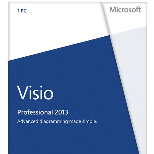 Microsoft VISIO PRO 2013 32-BIT/X64 DVD