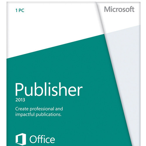 Microsoft PUBLISHER 2013 32-BIT/X64 DVD