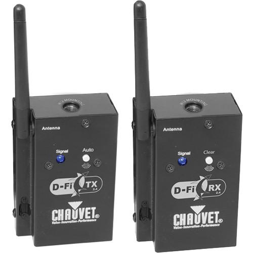 CHAUVET PROFESSIONAL D-FI 2.4 TX/RX DUO/D-FI TX 2.4/RX 2.4