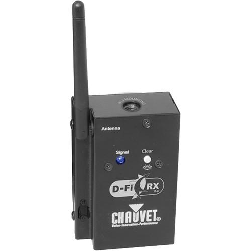 CHAUVET D-FI RX 2.4 DMX WIRELESS RECEIVER