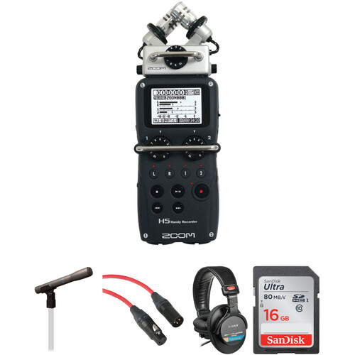Zoom ZOOM H5 HANDY RECORDER KIT/TRANSOM.ORG
