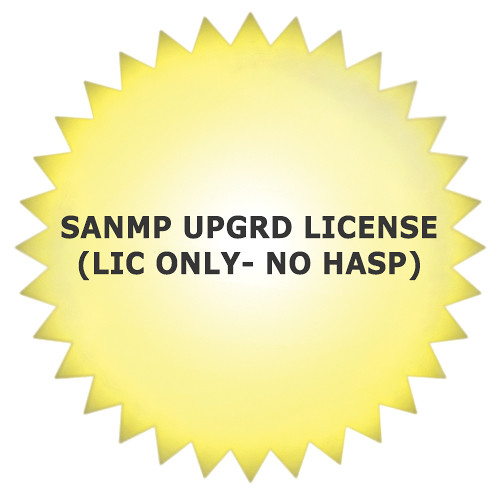 Studio Network Solutions SANMP UPGRD LICENSE(LIC ONLY- NO HASP)