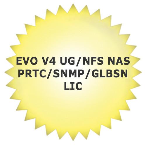 Studio Network Solutions EVO V4 UG/NFS NAS PRTC/SNMP/GLBSN LIC