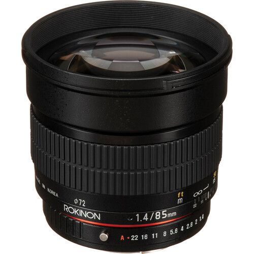Rokinon 85mm f/1.4 AS IF UMC Lens for Pentax K