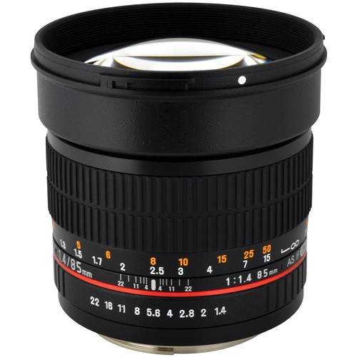 Rokinon 85mm f/1.4 AS IF UMC Lens for Four Thirds