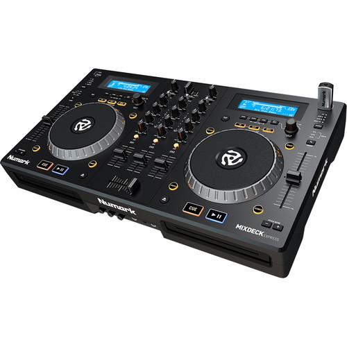 Numark MixDeck Express Premium DJ Controller with CD & USB Playback