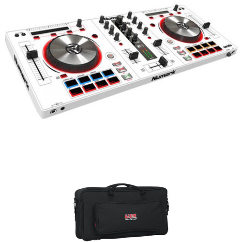 Numark Mixtrack Pro 3 - DJ Controller Kit with Gig Bag