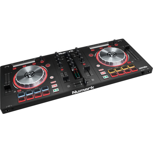 Numark Mixtrack Pro 3 Controller Kit with Stand, Headphones, and Microphone