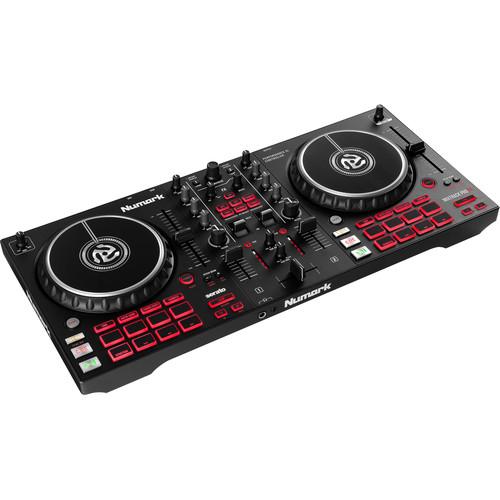Numark Mixtrack Pro FX DJ Controller for Serato DJ with FX Paddles (Black)