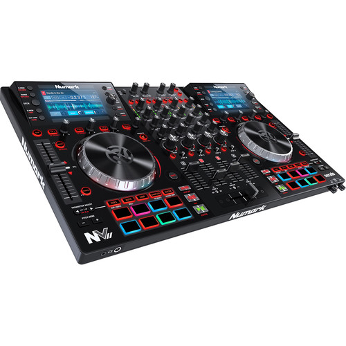 Numark NVII Dual-Display Serato Controller Kit with Flight Case