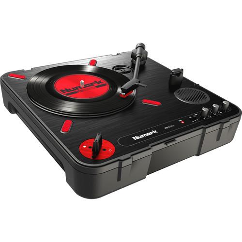 Numark PT01 Scratch - Portable Turntable w/ DJ Scratch Switch