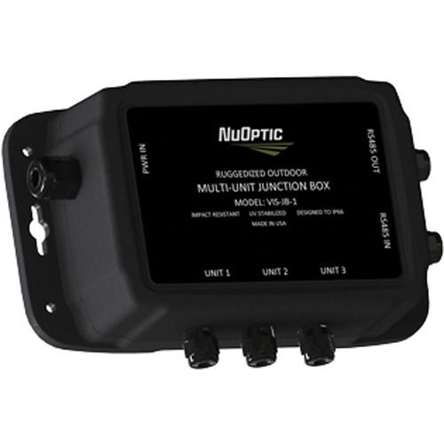 NUOPTIC VIS-JB-1 Ruggedized Outdoor Multi-Unit Junction Box for VIS Illuminators