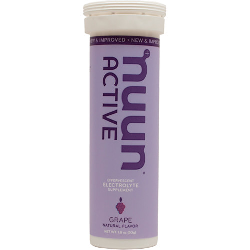 nuun Active Hydration Tablets (Grape, 8-Tube Pack)