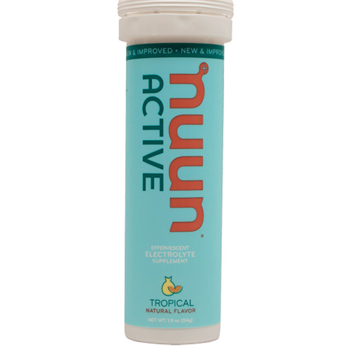 nuun Active Hydration Tablets (Tropical Fruit, 8-Tube Pack)