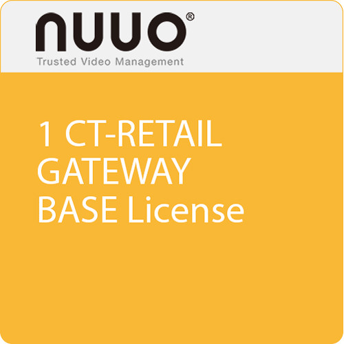 NUUO 1 CT-Retail Gateway Base License