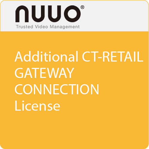 NUUO Additional CT-Retail Gateway Connection License
