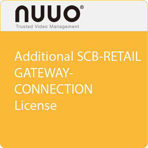 NUUO Additional SCB-Retail Gateway Connection License