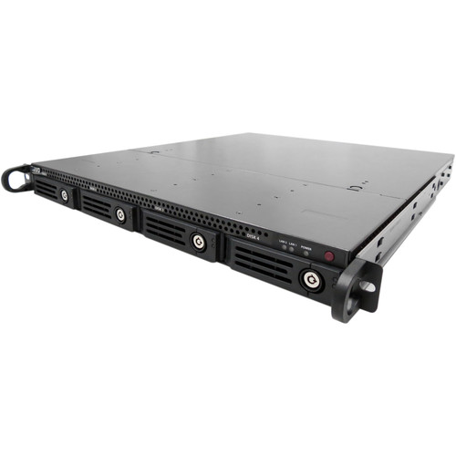 NUUO CT-4000R Crystal 1RU Rack-Mountable 4-Bay Network Video Recorder (Without HDD)