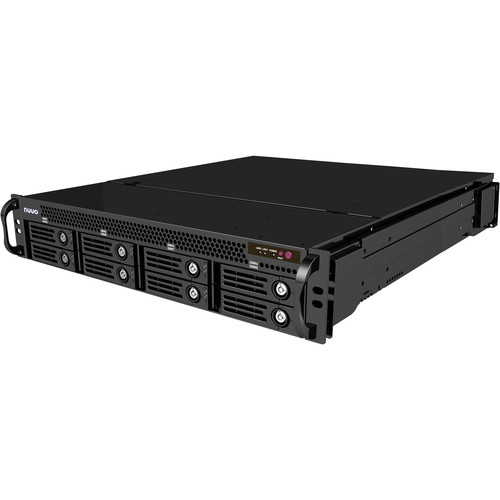 NUUO CT-8000RP Crystal 2U Rack-Mountable 8-Bay Network Video Recorder with Redundant Power Supply (10TB)