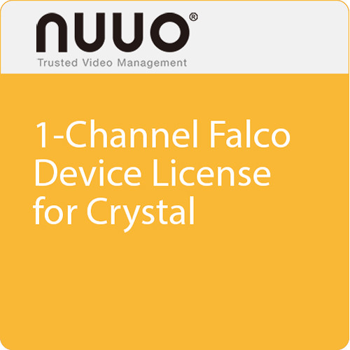 NUUO 1-Channel Falco Device License for Crystal