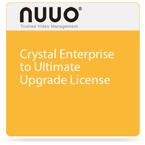 NUUO Crystal Enterprise to Ultimate Upgrade License