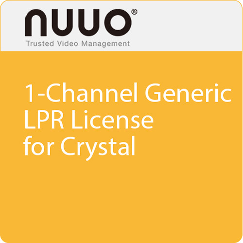 NUUO 1-Channel Generic LPR License for Crystal