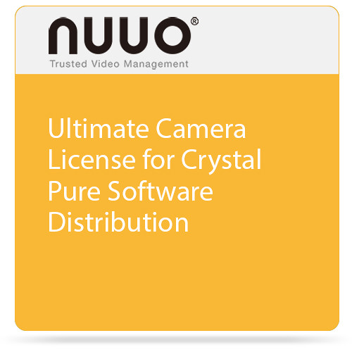 NUUO Ultimate Camera License for Crystal Pure Software Distribution