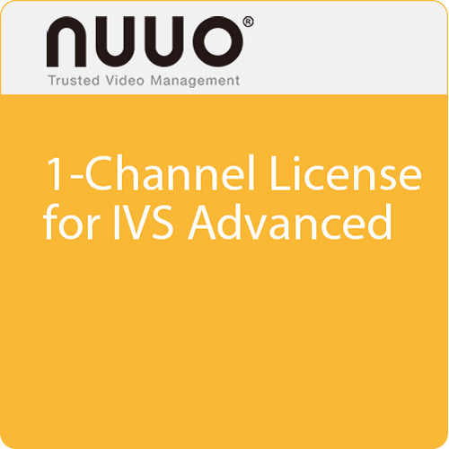 NUUO 1-Channel License for IVS Advanced