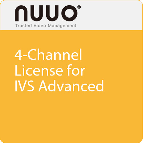 NUUO 4-Channel License for IVS Advanced