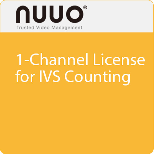 NUUO 1-Channel License for IVS Counting