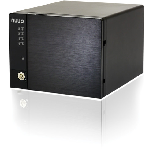 NUUO NVRmini2 NE-4080 NVR and Server (8-Channel, 4 Drive Bays, 3TB)