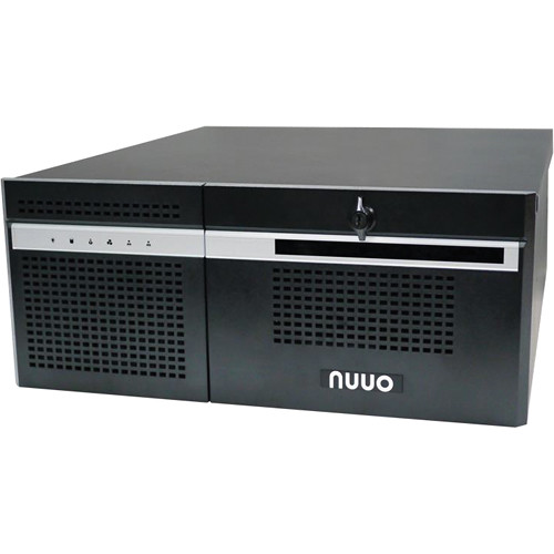 NUUO NH-4500-ENT 64-Channel 6-Bay 4U Hybrid NVR (4TB)
