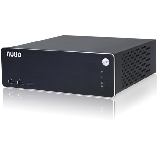 NUUO NS-1080 8-Channel NVRsolo Network Video Recorder (2 x 1TB HDD)