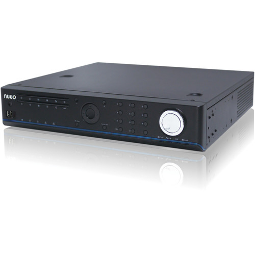 NUUO NS-8065 NVRsolo 6-Channel H.264 80 Mb/s 8-Bay Network Video Recorder with US Power Cord (16TB)