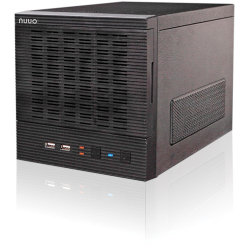 NUUO NT-4040 Titan Enterprise 4-Channel Tower H.264 250 Mb/s 4-Bay Network Video Recorder (16TB)