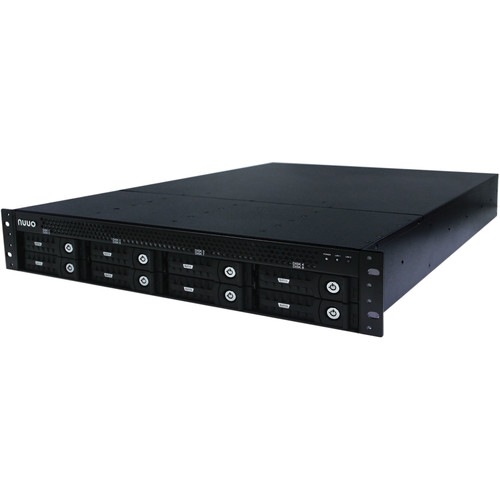 NUUO NT-8040RP Titan Enterprise 4-Channel 2U Rack-Mountable H.264 250 Mb/s 8-Bay Network Video Recorder with Redundant Power (15TB)