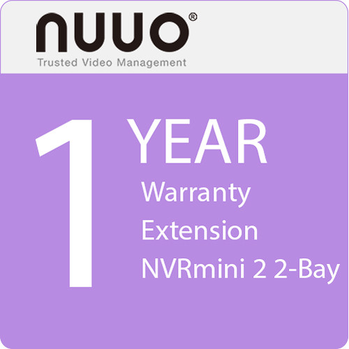 NUUO 1-Year Warranty Extension for NVRmini 2 2-Bay
